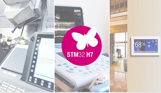 双核STM32H7:Cortex-M通用MCU性能之巅
