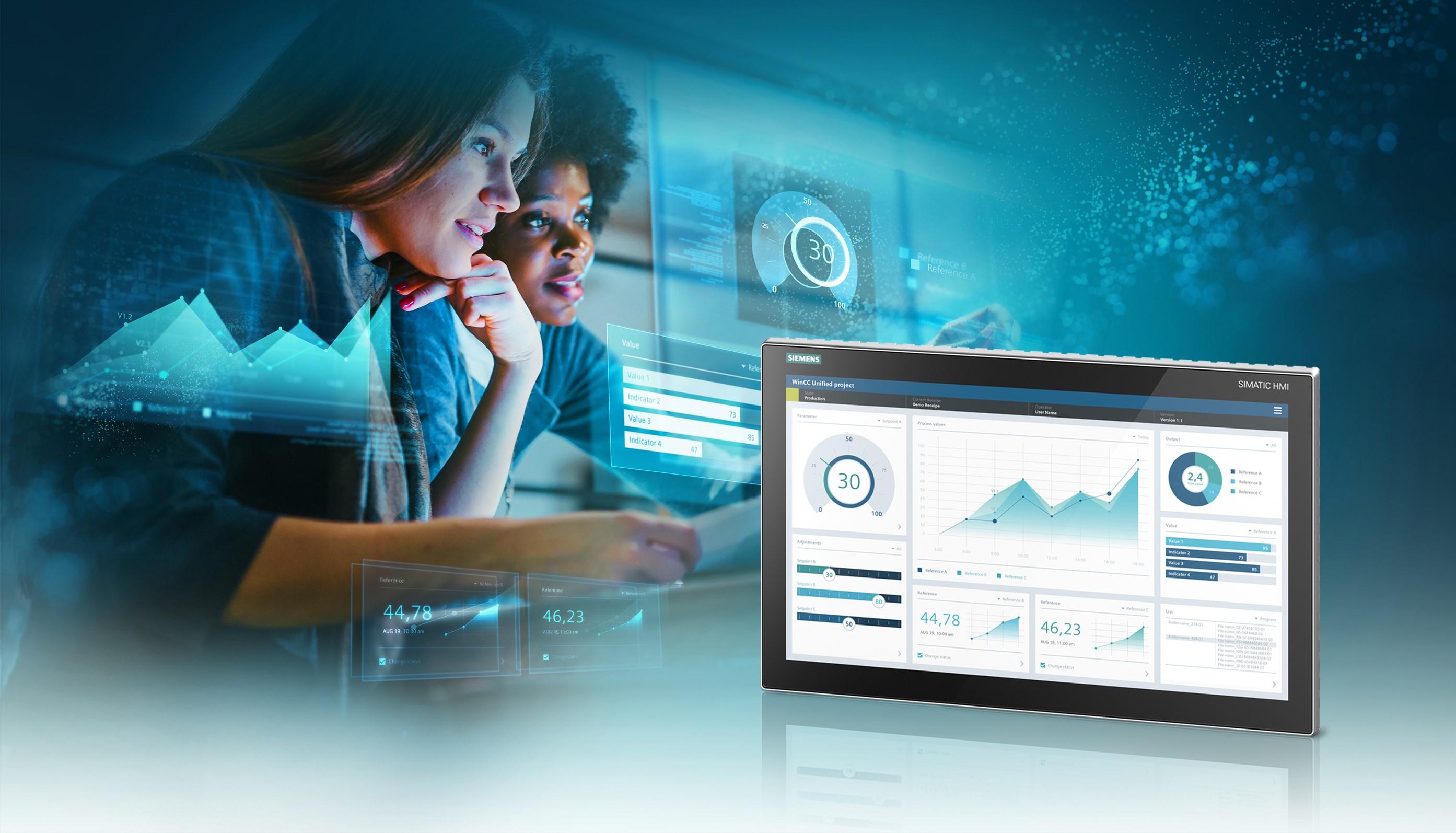 西门子发布基于Web的可视化系统,树立工业操作控制和监控新标准