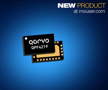 贸泽开售适用于Wi-Fi 5设计的Qorvo QPF4219集成前端模块