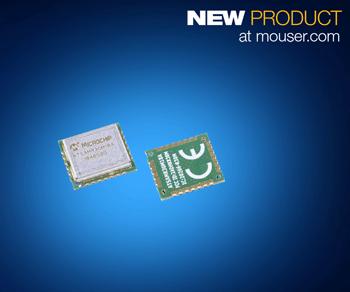 贸泽开售用于超低功耗WPAN 设计的Microchip SAM R30 Sub-GHz模块