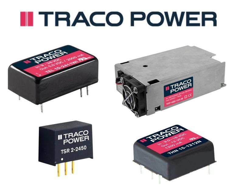 e络盟新增Traco Power全新电源产品,为客户提供更多优质选择