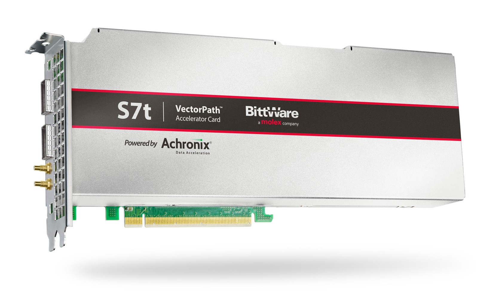 BittWare 和 Achronix 宣布达成战略协作并推出采用 7 纳米 Speedster7t FPGA 的企业级 PCIe 加速卡产品