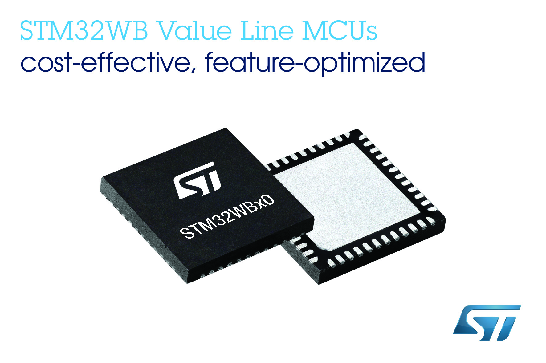 意法半导体经济型超值系列MCU新增STM32WB无线微控制器