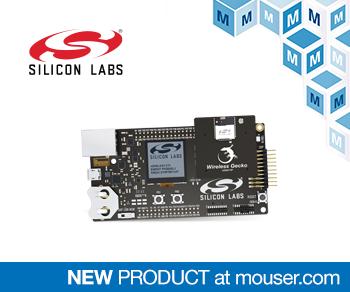 貿澤電子備貨用于網狀網絡設計的Silicon Labs xGM210P無線Gecko模塊入門套件