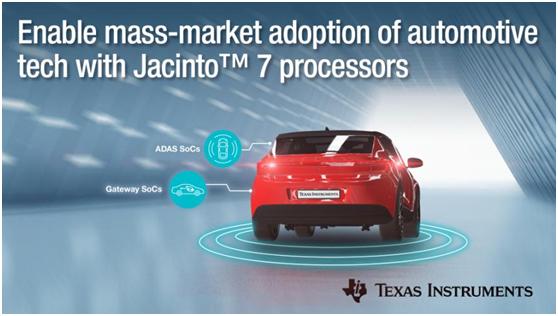軟件定義汽車,TI-Jacinto? 7助力汽車ADAS技術大眾化