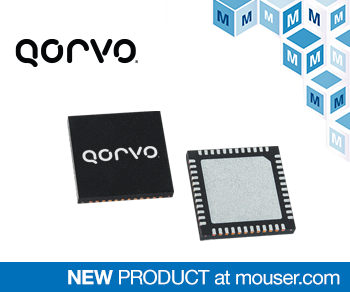 贸泽推出Qorvo PAC5527可编程电源管理解决方案适用于BLDC电机控制