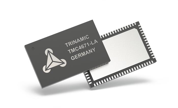Trinamic的最新改進的TMC4671伺服控制器IC