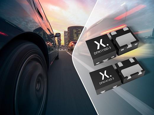 Nexperia推出采用小型无引脚耐用型DFN封装的符合AEC-Q101的分立半导体产品组合