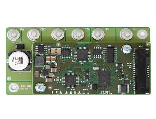 Trinamic強大的伺服驅動器TMCM-1636是三相BLDC電機和DC電機的理想平臺