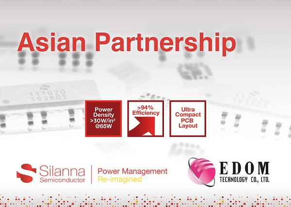 Silanna Semiconductor宣布与亚洲卓越代理商益登科技合作.jpg