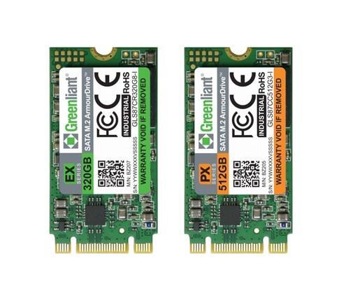 绿芯开始提供超高耐久性、工业级SATA M.2 固态硬盘样品
